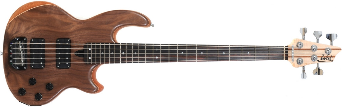 5-string Mk2 with American walnut facings.