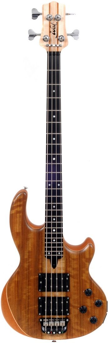 4-string Mk2 with shedua facings and a fretted ebony fingerboard.