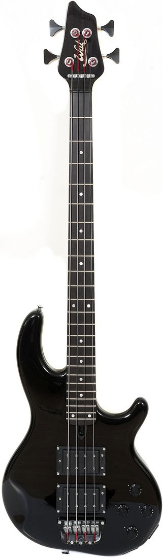 4-string Mk3 with a gloss body and neck finish, and a fretted ebony fingerboard.