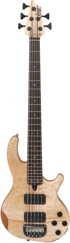 5-string Mk3 with birdseye maple facings.