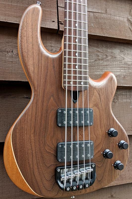 5-string Mk2 with American walnut facings.